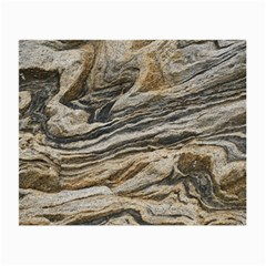 Rock Texture Background Stone Small Glasses Cloth (2 Side)
