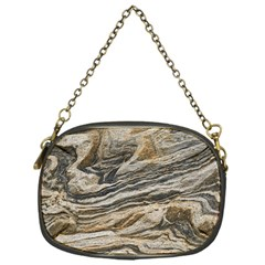 Rock Texture Background Stone Chain Purses (one Side)