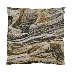 Rock Texture Background Stone Standard Cushion Case (two Sides)