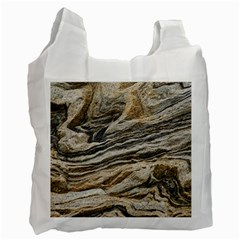 Rock Texture Background Stone Recycle Bag (two Side)
