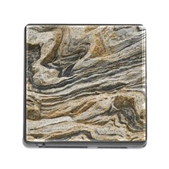 Rock Texture Background Stone Memory Card Reader (square)