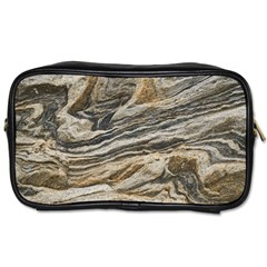 Rock Texture Background Stone Toiletries Bags 2 Side