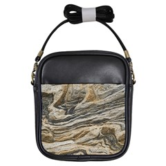 Rock Texture Background Stone Girls Sling Bags