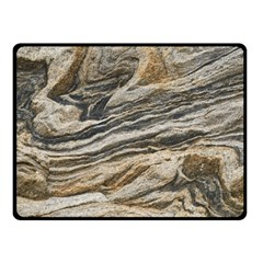 Rock Texture Background Stone Fleece Blanket (small)