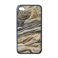 Rock Texture Background Stone Apple Iphone 4 Case (black)