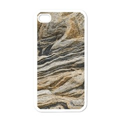 Rock Texture Background Stone Apple Iphone 4 Case (white)