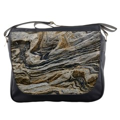 Rock Texture Background Stone Messenger Bags