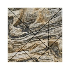 Rock Texture Background Stone Acrylic Tangram Puzzle (6  X 6 )