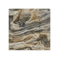 Rock Texture Background Stone Acrylic Tangram Puzzle (4  X 4 )