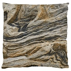 Rock Texture Background Stone Large Cushion Case (two Sides)