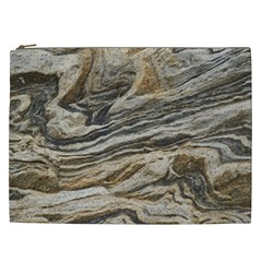 Rock Texture Background Stone Cosmetic Bag (xxl)