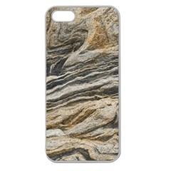 Rock Texture Background Stone Apple Seamless Iphone 5 Case (clear)