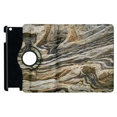 Rock Texture Background Stone Apple Ipad 2 Flip 360 Case