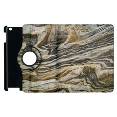 Rock Texture Background Stone Apple Ipad 3/4 Flip 360 Case