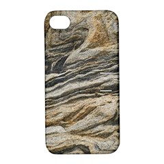 Rock Texture Background Stone Apple iPhone 4/4S Hardshell Case with Stand