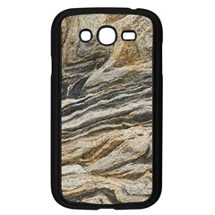 Rock Texture Background Stone Samsung Galaxy Grand Duos I9082 Case (black)