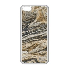 Rock Texture Background Stone Apple iPhone 5C Seamless Case (White)