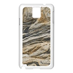 Rock Texture Background Stone Samsung Galaxy Note 3 N9005 Case (White)