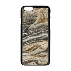 Rock Texture Background Stone Apple Iphone 6/6s Black Enamel Case