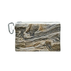 Rock Texture Background Stone Canvas Cosmetic Bag (s)