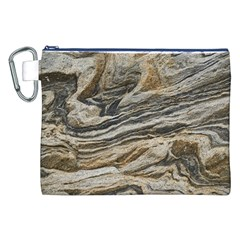 Rock Texture Background Stone Canvas Cosmetic Bag (xxl)
