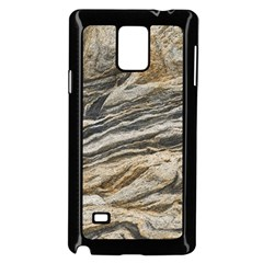 Rock Texture Background Stone Samsung Galaxy Note 4 Case (black)