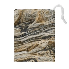 Rock Texture Background Stone Drawstring Pouches (extra Large)
