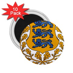 Coat of Arms of Estonia 2.25  Magnets (10 pack)