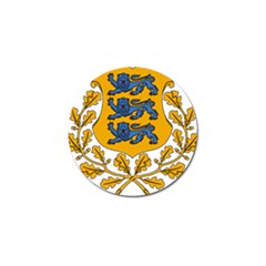 Coat of Arms of Estonia Golf Ball Marker (10 pack)