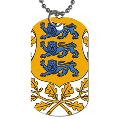 Coat of Arms of Estonia Dog Tag (Two Sides)