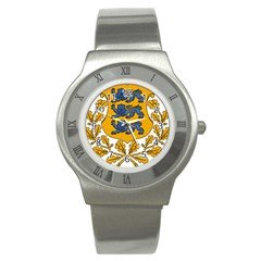 Coat of Arms of Estonia Stainless Steel Watch