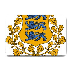 Coat of Arms of Estonia Small Doormat
