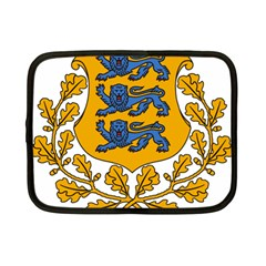 Coat of Arms of Estonia Netbook Case (Small)