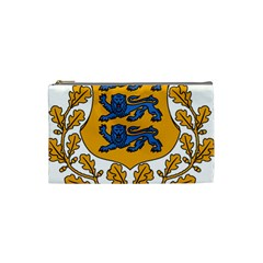 Coat of Arms of Estonia Cosmetic Bag (Small)