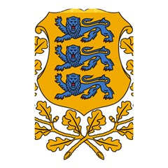 Coat of Arms of Estonia Shower Curtain 48  x 72  (Small)