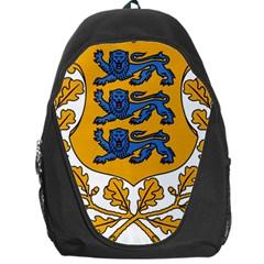 Coat of Arms of Estonia Backpack Bag