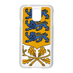 Coat of Arms of Estonia Samsung Galaxy S5 Case (White)