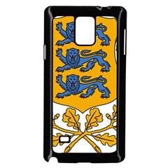 Coat of Arms of Estonia Samsung Galaxy Note 4 Case (Black)