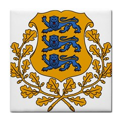 Coat of Arms of Estonia Tile Coasters