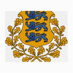 Coat of Arms of Estonia Small Glasses Cloth (2-Side)