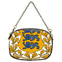 Coat of Arms of Estonia Chain Purses (Two Sides)