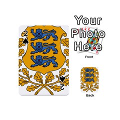 Coat of Arms of Estonia Playing Cards 54 (Mini)