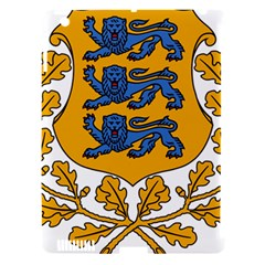 Coat of Arms of Estonia Apple iPad 3/4 Hardshell Case (Compatible with Smart Cover)