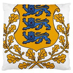 Coat of Arms of Estonia Large Cushion Case (Two Sides)