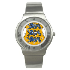 Lesser Arms of Estonia  Stainless Steel Watch