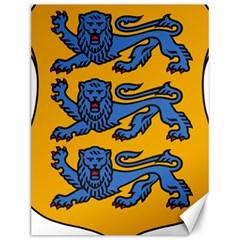 Lesser Arms of Estonia  Canvas 12  x 16