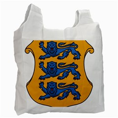 Lesser Arms of Estonia  Recycle Bag (One Side)