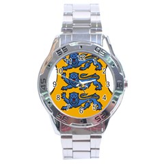 Lesser Arms of Estonia  Stainless Steel Analogue Watch