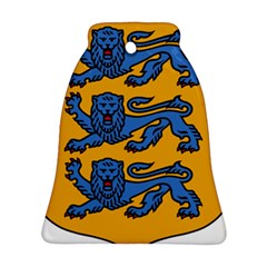 Lesser Arms of Estonia  Bell Ornament (Two Sides)