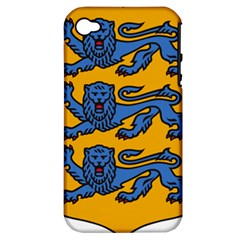 Lesser Arms of Estonia  Apple iPhone 4/4S Hardshell Case (PC+Silicone)